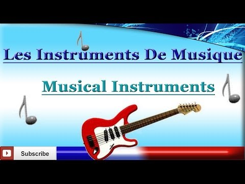 Learn French - Musical Instruments - Les instruments de musique