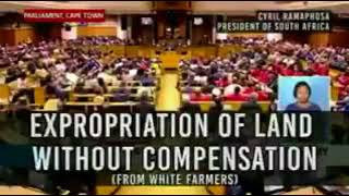 Cyril Ramaphosa - South Africa's new President announces his land Expropriation Plans