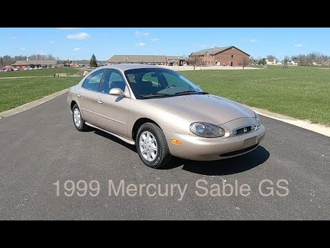 1999 Mercury Sable GS|Walk Around Video|In Depth Review|Test Drive