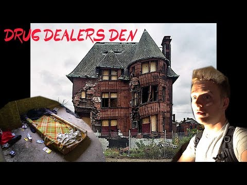Abandoned TRAP House - FOUND Drug Dealers HIDEOUT (NO CLICKBAIT)