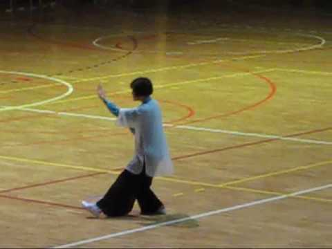Faye Li Yip doing Sun taiji routine at STN Festiva...