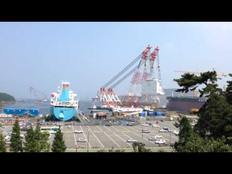 DSME Shipyards upload