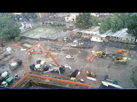Commonwealth Bank Building 1 Eveleigh Construction  Time Lapse 23/01/17 to 22/07/17
