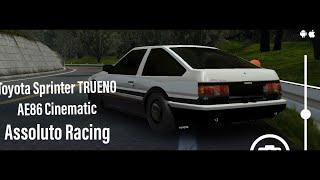 Assoluto Racing| Toyota Sprinter TRUENO AE86 Cinematic