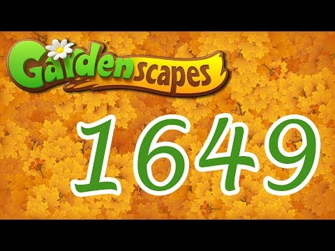 Gardenscapes level 1649
