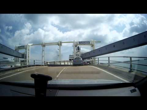 Dover to Calais ferry complete experience arrival, check in, boarding, getting out, P&O