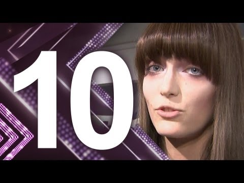 First Face - #10 Zuzanna Bijoch - First Face Countdown Fall 2012 | FashionTV