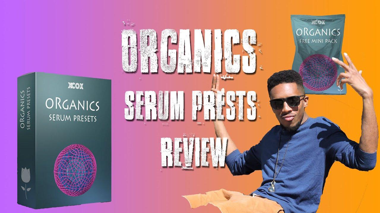 KCox -Organics serum presets | Free Download and unboxing