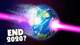Blasting a hole through Earth because it's better than 2020