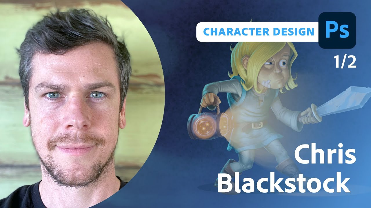 Alien Wildlife Biologist Character Design with Chris Blackstock - 1 of 2