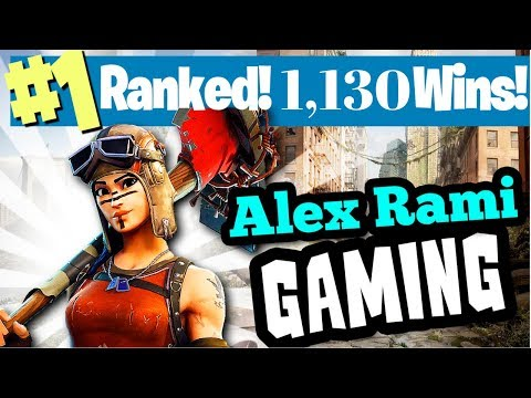 #1 WORLD RANKED - 1,130 WINS! - LEVEL 179! - FORTNITE BATTLE ROYALE LIVE STREAM - SPONSOR GOAL