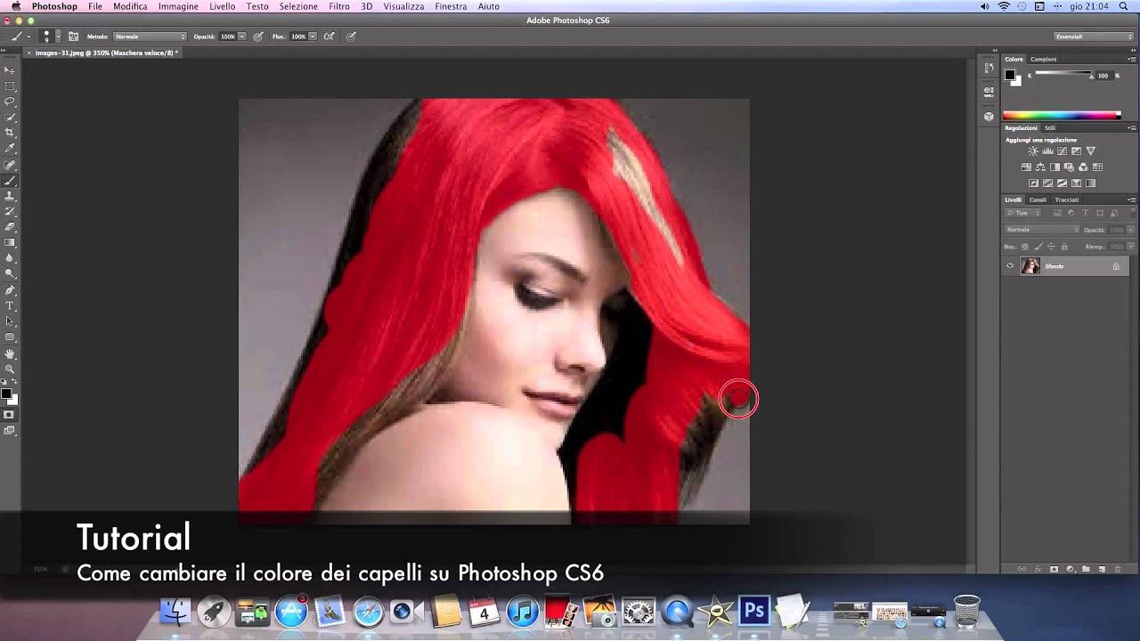 Come cambiare il colore dei capelli