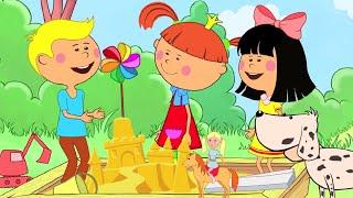 Детские песни - Сборник(Большой сборник песенок для детей! Развивающие мультики для изучения алфавита, песни из мультфильмов (
