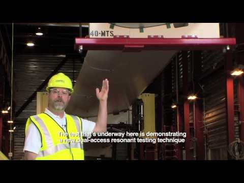 National Wind Tecnology Center Provides Dual Axis Resonant Blade Testing