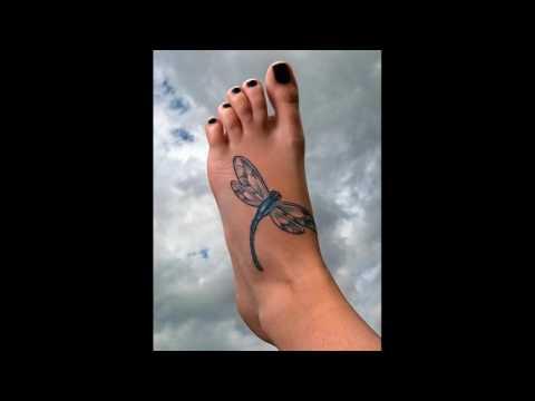 Tattoo ideas for girl   foot tattoos