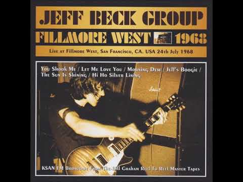 Jeff Beck Group - Fillmore West [1968]