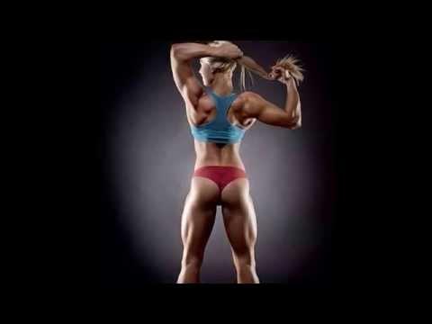Голые девушки спортсменки, гимнастки, культуристки