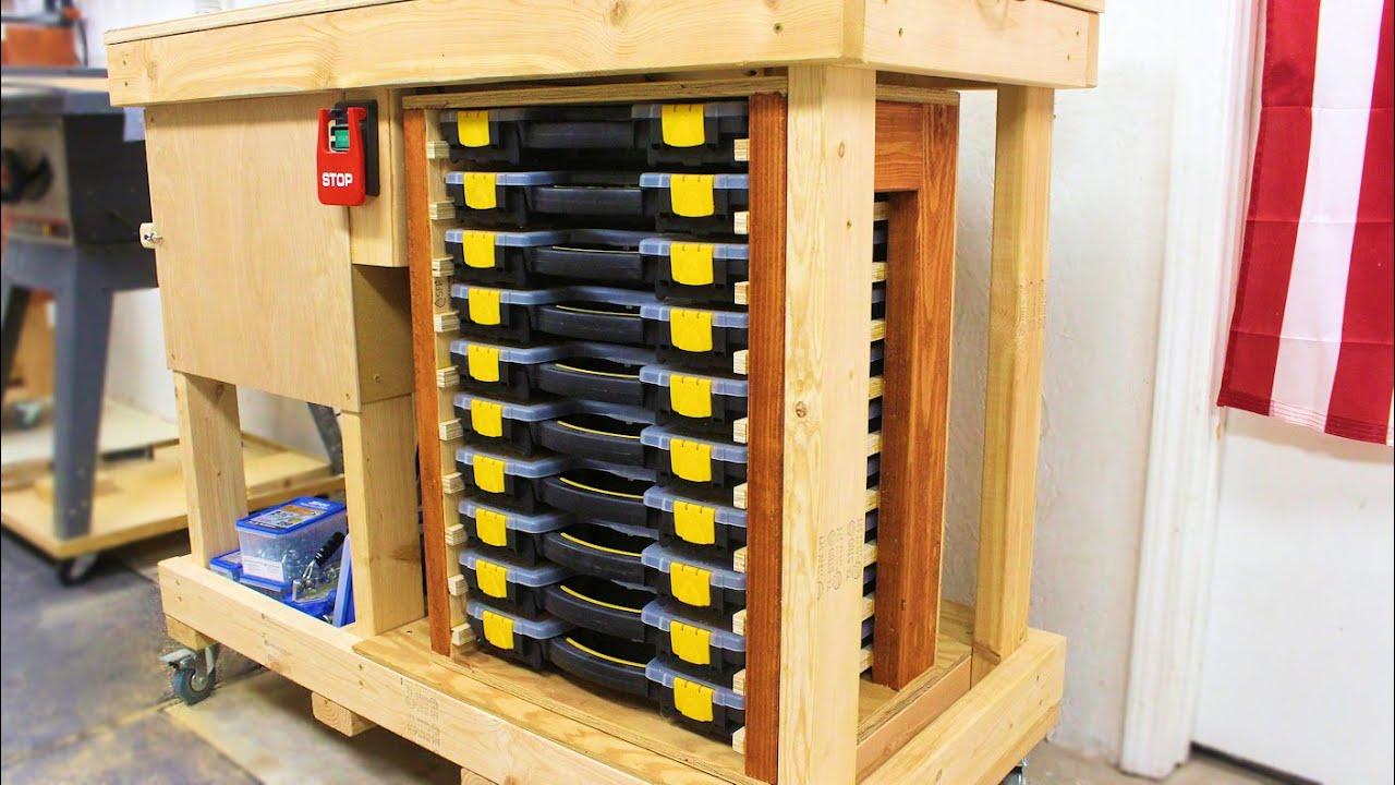 parts organizer storage cabinet for your garage or workshop