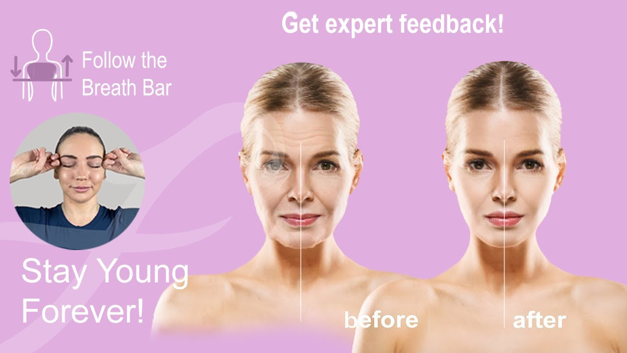 Get Rid of Stress with Face Yoga