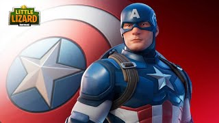 CAPTAIN AMERICA IS HERE!!! - Fortnite X Avengers