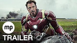 CAPTAIN AMERICA 3: CIVIL WAR Trailer (2016) Marvel Film