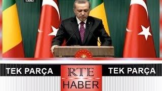 Cumhurbaşkanı Erdoğan, Mali cumhurbaşkanı Keita ile ortak basın toplantısı ★★★