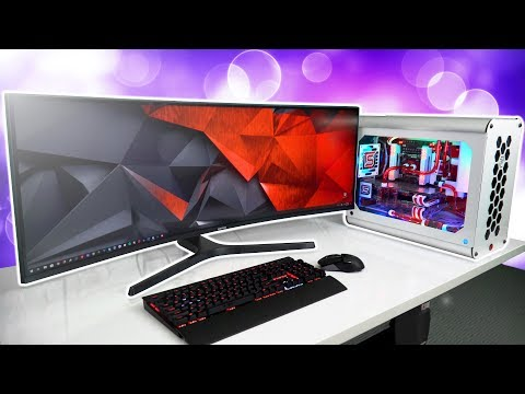 "Gaming on the Samsung 43"" SUPER Ultrawide Curved Monitor - CJ89 להורדה"