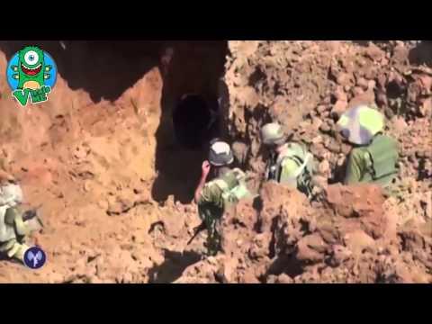Israel Gaza Conflict IDF Destroy Tunnel, Huge Explosion