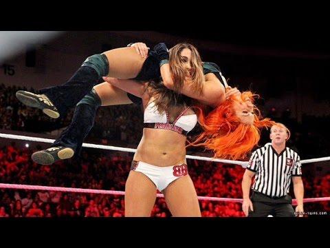 WWE Divas Finishers 2015