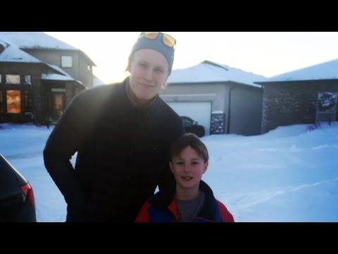 Jets' Patrik Laine shows up after Winnipeg boy invites him to birthday party