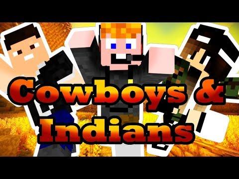 Minecraft - Cowboys & Indians [EGY KIS LOPKODÁS!]