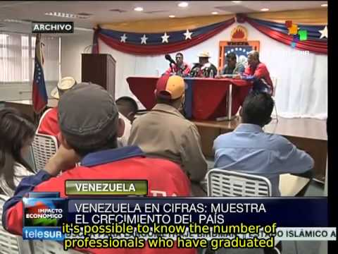 Venezuela presents report on growth in strategic areas