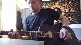 "KILLING JOKE  :  "" Dawn of the Hive "" guitar cover & play along"