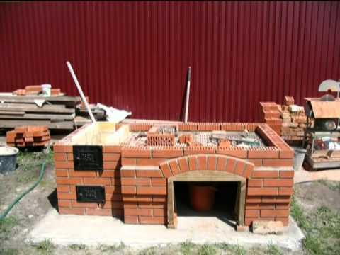 Поэтапное строительство барбекю в фото маринад для мяса барбекю
