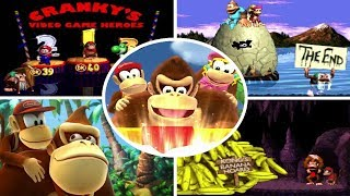 Evolution of Endings in Donkey Kong Country Games (1994-2014)