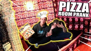 PIZZA KARTON ROOM PRANK 🍕🍕🍕