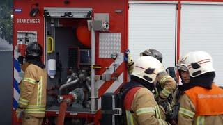 Prio 1 TS43-2 TS95-1 HW12-1 HO90-3 DHV Politie Gebouwbrand Middel Rotterdam