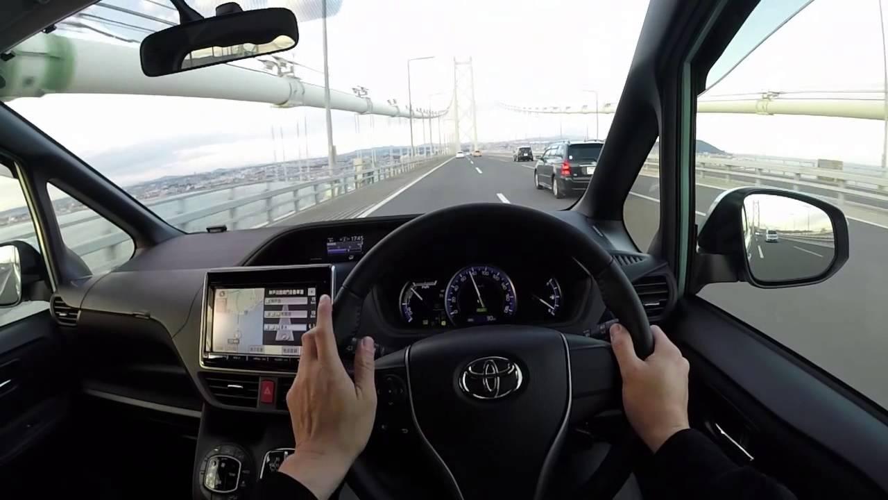 VOXY Hybridの運転席目線 - YouT...