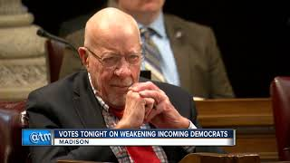 GOP's 'lame duck' session at Capitol kicks off with marathon public hearing