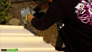 Cheap Sheds - Yardsaver Garden Sheds Assembly Videos - Part 6a Skillion Flat Roof
