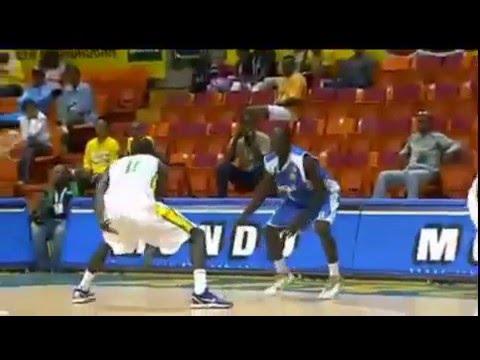Sénégal vs Tchad 1partie Afrobsket 2011