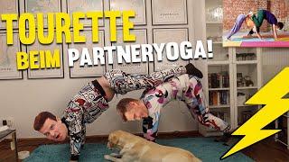 Tourette testet PARTNERYOGA - Gisela, Tims Hund und die Frage, wer unten liegt ? Gewitter im Kopf