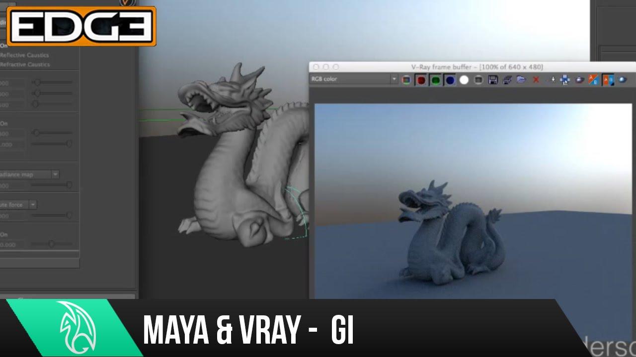 Maya vray material basics.