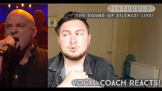 Vocal Coach Reacts! Disturbed! The Sound Of Silence! Live!