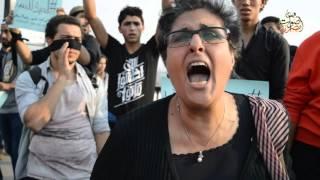 نشطاء ينظمون وقفة على كوبري 6 أكتوبر بمناسبة ذكرى أحداث محمد محمود الرابعة