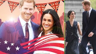 Prince Harry And Meghan Markle's Pre-wedding Activities Mix Both Us And Uk Culture!