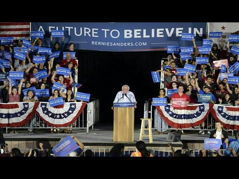 Bernie Sanders Speech at the Paul Paul Amphitheater in Fresno, CA