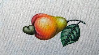 Como Pintar um Caju