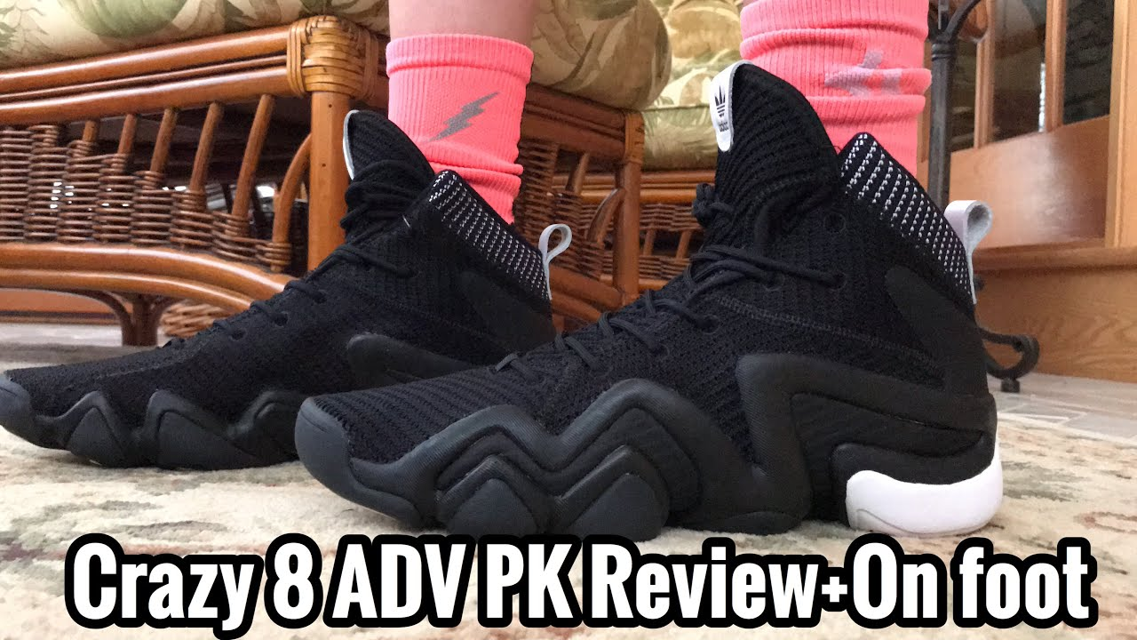 6f5c73e52a7 Crazy 8 ADV PK Review + On Foot - YouTube