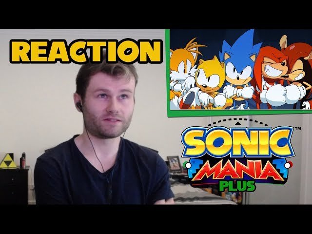 LIZAM REACTS: Sonic Mania Plus Trailer